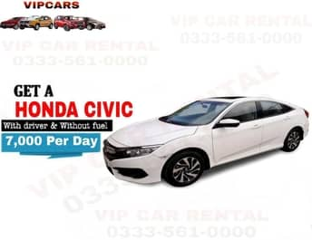 Rent a Honda Civic islamabad