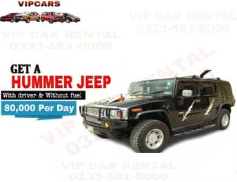 Rent a Hummer Jeep islamabad