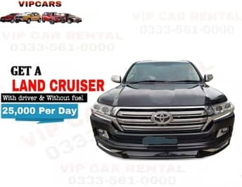 Rent a Land Cruiser islamabad