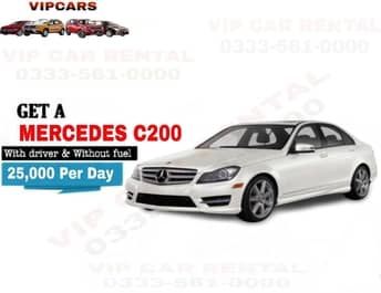 Rent a Mercedes C200 islamabad