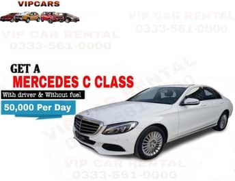 Rent a Mercedes C Class islamabad